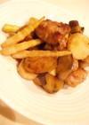 長芋とやわらか豚の甘酢炒め