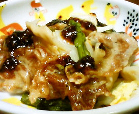 タジン鍋をレンジで 蒸し野菜と豚の梅ダレ