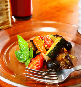 夏野菜のマリネ☆バルサミコ風味
