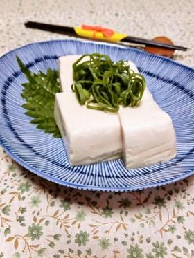 ミソ豆腐♪