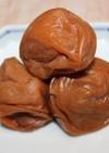 梅干の作り方(塩分10%のハチミツ漬)♪