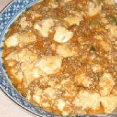 ノニ麻婆豆腐