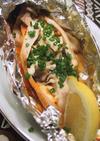 HOTな鮭のホイル焼き