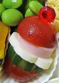 ☆お弁当*ミニトマトサンド☆
