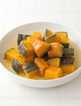 【夏献立】サワー風味かぼちゃのレンジ蒸し