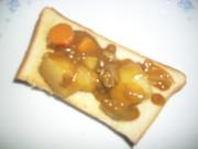 カレートーストの写真