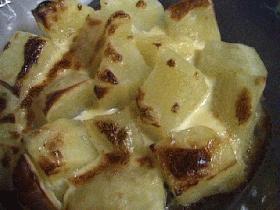 ジャガイモの味噌マヨネーズ焼き