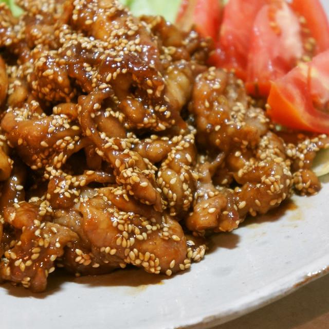 レシピ 豚肉