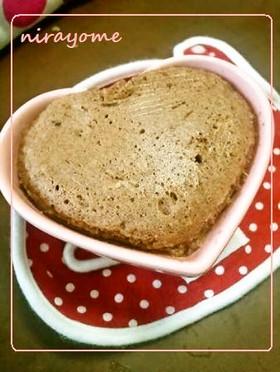 レンジで簡単マグカップの蒸しパンケーキ
