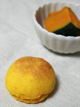 ホットケーキミックスでかぼちゃスコーン