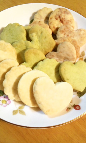 サクサク☆ミルククッキー 低カロリー版