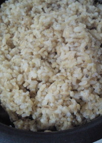 ✿緑玄米の炊き方✿