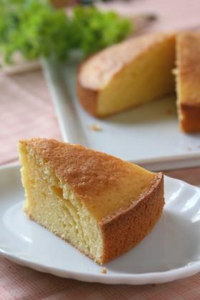 卵1個♪どこか懐かしいバターケーキ