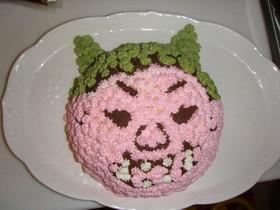 鬼 ケーキ