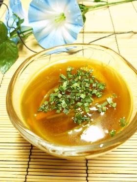 夏だ☀カレーだ!冷たいカレー味麺つゆ