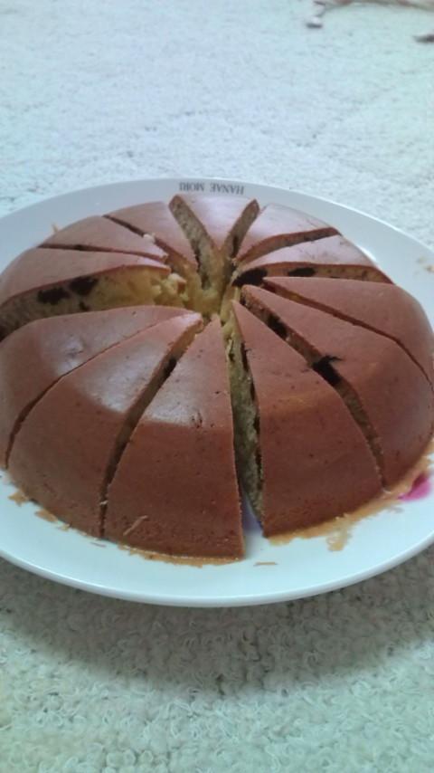 炊飯器で♪簡単ヘルシーバナナケーキ