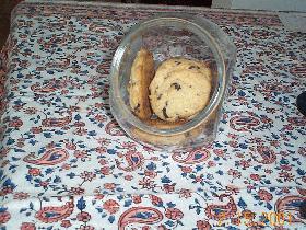 さくさくのチョコチップクッキー