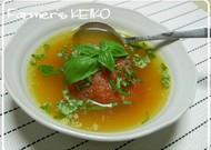 丸ごとトマトのトロトロスープ