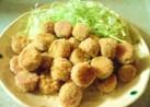 トースターで☆魚ニソのコロコロフライ
