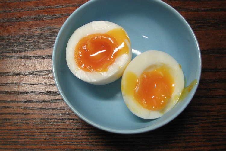 卵 時間 半熟 ゆで