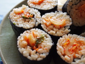 キムチうどん寿司