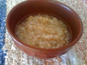 香ばしい♪玄米粥