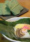 子供と一緒に…♪朴葉寿司♪