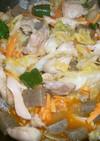 鶏チャーシューの野菜炒め