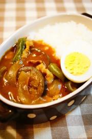 ✿夏野菜とポークのカレー✿の写真