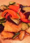 ★幼児も食べれる★鮭の夏野菜の南蛮漬け★