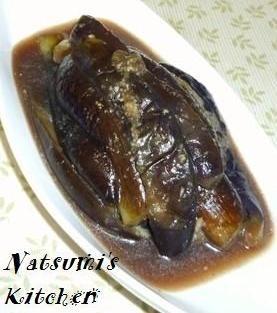 とろとろ❤茄子の煮びたし~甘辛生姜風味✿