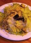 夏野菜とさけ缶を使った和風パスタサラダ