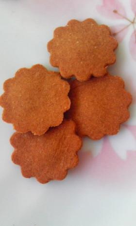ボリボリ♪豆腐きな粉クッキー