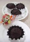 小さなチョコケーキ