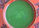 モロヘイヤのお味噌汁