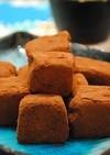 ヘルシー♪お豆腐で 生チョコ風 ☆