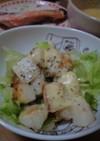 山芋とカマンベールのトロッと炒め