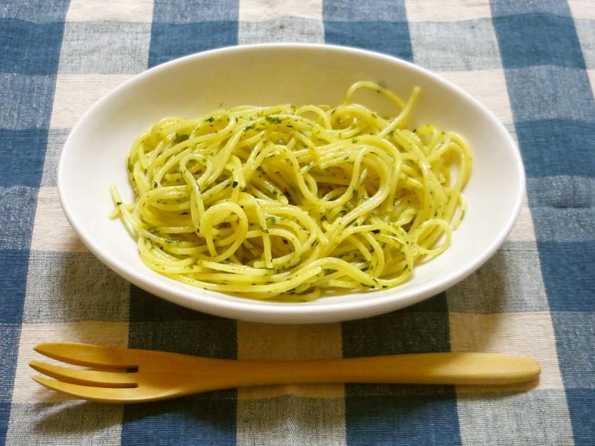 超簡単☆のり塩☆スパゲティ