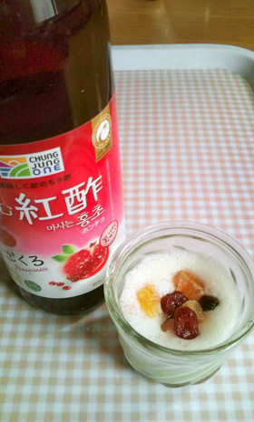 カロリーオフ☆豆乳ムー酢