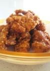 調味料3つ♪鶏のカリカリッと竜田揚げ