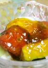 豆腐と夏野菜のポン酢ジュレ
