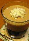 2色のコーヒーゼリー☆
