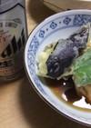 肉巻豆腐天 夏野菜と