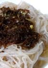 沖縄産もずくスープの冷麺