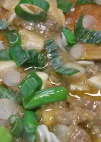 酒粕☆麻婆豆腐