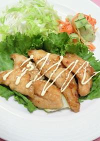 *鶏の甘酢煮・マヨ風味*
