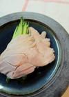 塩水鴨風茹で鶏