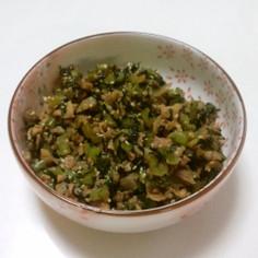 ササッと常備菜 小松菜と豚肉の炒め物