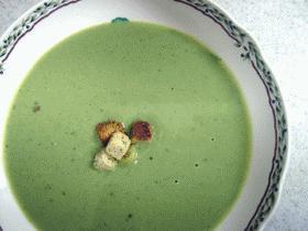 野菜をおいしく:ブロッコリーのポタージュ