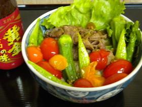 【旬】野菜たっぷり・さわやか丼